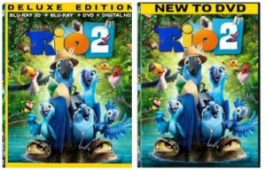 Rio 2 Movie DVD Cover
