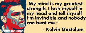 Kelvin Gastelum on Mental Strength