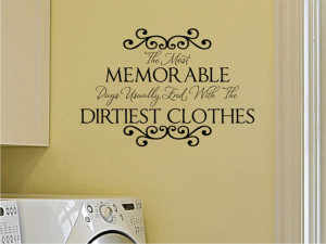 Room Vinyl Wall Decal Memorable Days Wall Quote Saying with Vinyl ...