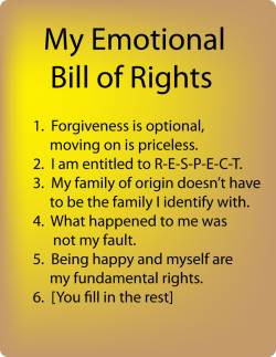 Setting Healthy Boundaries: An Emotional Bill of Rights for Child ...
