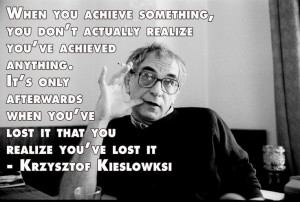 ... Quotes - Krzysztof Kieslowski - Movie Director Quotes #kieslowski