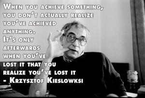 ... Quotes - Krzysztof Kieslowski - Movie Director Quotes #kieslowski