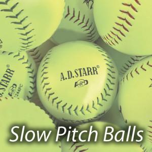 Slow Pitch Softball Balls