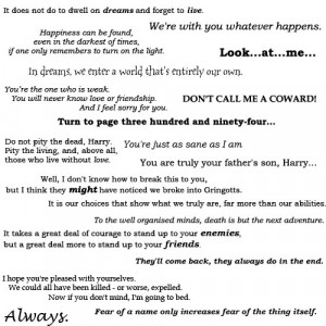 ... popular tags for this image include: favorite, harry potter and quotes