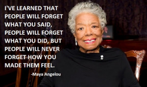 An Interview with Maya Angelou and How It Changed My Life July 8, 2014