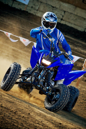 2011 Yamaha Raptor 125 Action_34D3061