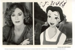 Publicity photo of O'Hara opposite her character.