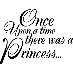 Once Upon a time...Wall Quotes Words Lettering Sayings ($22) liked ...