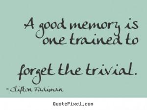 good memories quotes