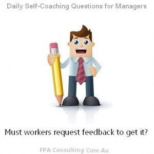 to provide POSITIVE feedback. What about negative feedback ...