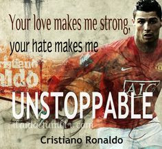 Love this. Cristiano Ronaldo