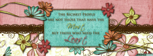 Quote About Love Facebook Cover For Timeline Preview