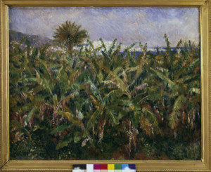 Image Pierre Auguste Renoir Renoir Banana Plantation 1881