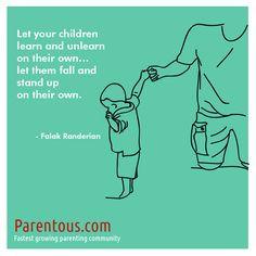 Parenting Quote - #overprotective #parents More @ http://www.parentous ...