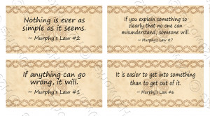 Murphys Law Quotes Funny