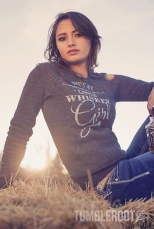 Whiskey Girl Ultra-Comfy Fleece Sweatshirt
