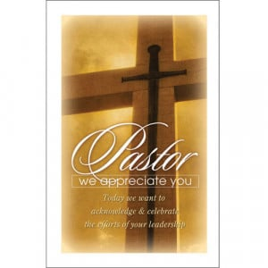 Pastor Appreciation Photo...