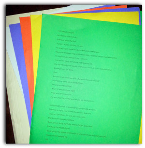 Research, print and cut 365 days of quotes or 52 quotes weekly.