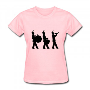Neck T Shirt Women's marching band Love Quotes Tee-Shirts for Lady ...