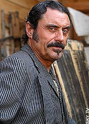Ian McShane in Deadwood: these days, his excesses are confined to the ...