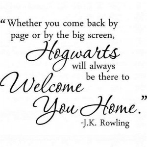 Harry potter sayings quotes and positive motivational home