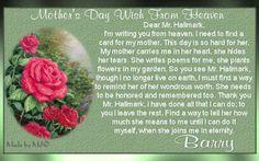 ... Poem Deceased Mom Deceased Mother Poems For Funeral Or Memorial More