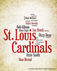 St. Louis Cardinals Greatest Baseball Players