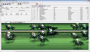 finishlynx horse racing photo finish results screenshot