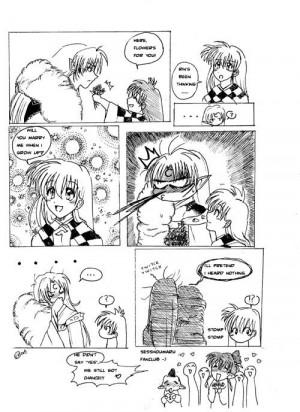 Inuyasha Sesshomaru Funny Comic