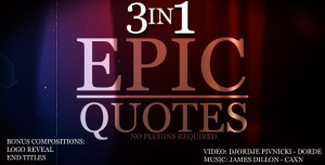 Epic Quotes 3IN1