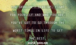Being True To Yourself Quotes about Being Strong