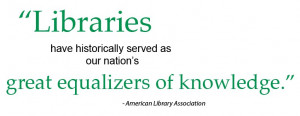 Friends of the blog know I'm a library geek, so it should come as no ...