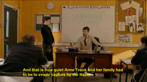 jack whitehall bad education i've only watched to minutes so far but ...