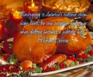 Thanksgiving Is America's National Chow-Lown Feast, The One Occasion ...