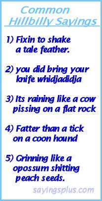 Funny Slang Quotes http://kootation.com/funny-hillbilly-sayings.html