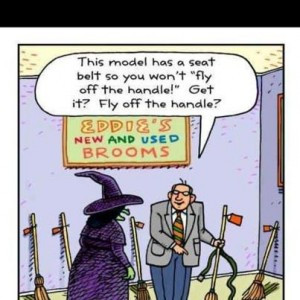 Oh the Witches!
