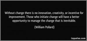 More William Pollard Quotes