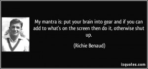 More Richie Benaud Quotes