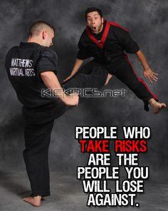 ... karate kenpo kempo kajukembo risks motivational motivate quotes More