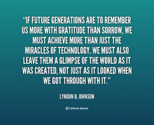 Generation Quotes