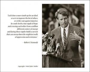 Robert Kennedy speech in South Africa