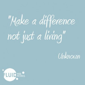 Make a difference…quote