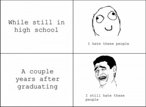 Funny Sayings About High School Reunions