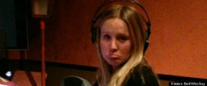 Kristen Bell says goodbye to