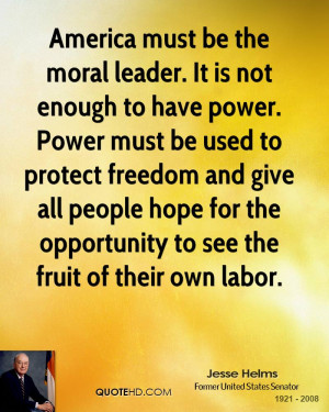 ... people hope for the opportunity to see the fruit of their own labor