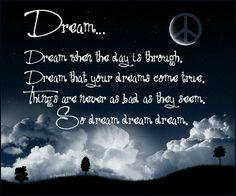 Dream of Peace! More