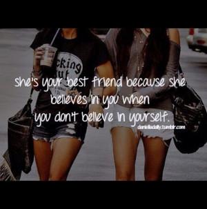 Best Friend Quote ♥ love my