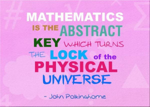 Math quotes, deep, thoughts, sayings, universe