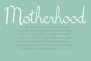 Motherhood Monday