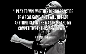 ... best. Instead one can decide to adopt the attitude of playing to win